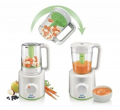 Hurry! Philips Avent Combined Steamer & Blender 0% Bpa - New - Free Postage
