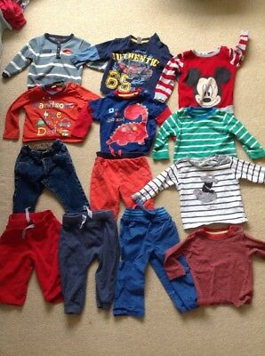 6-9 Month boys tshirt and trousers bundle