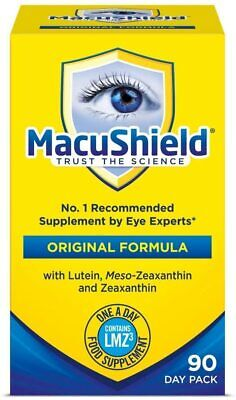 4 PACK Macushield With Meso-zeaxanthin For Macular Health 90 Capsules