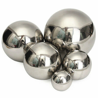 Stainless Steel Mirror Polished Sphere Hollow Ball Ornament Decor Outdoor/Indoor