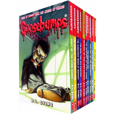 R. L. Stine Goosebumps Series Collection 10 Books Set Let's Get Invisible NEW