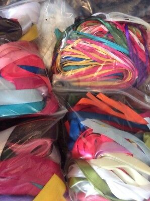 Job Lot Of Ribbon 50 Meters In Total Of 3,10,16 And 25mm Mixed
