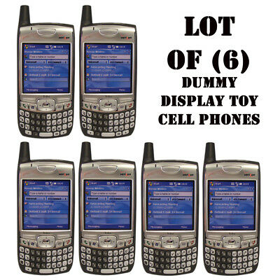 Lot of (6) NEW Verizon Palm 700w/700wx/Treo Dummy Display / Kids Toy Cell Phones