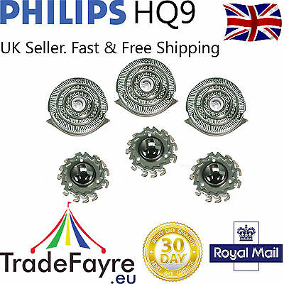 PHILIPS HQ9 AFTERMARKET SPEED XL SHAVER HEADS / FOILS / BLADES ~ Philishave x3