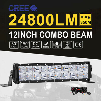 "10D Quad Row 9Inch 600W LED Light Bar Work Lamp For Ford Off Road UTE 8"" 10"""