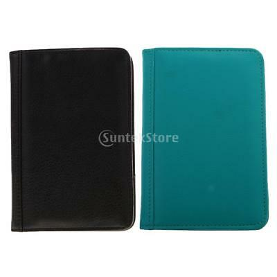 RFID Blocking Passport PU Leather Case Holder Travel Wallet Cover Protector