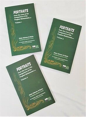 Portraits from the Lives of the Companians of the Prophet Muhammad (saw)- 3 Vol