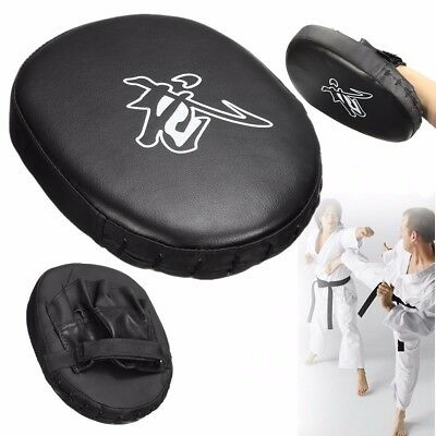 Thai Boxing Kickboxing Taekwondo Karate Punch Mitt Training Kick Target Pad