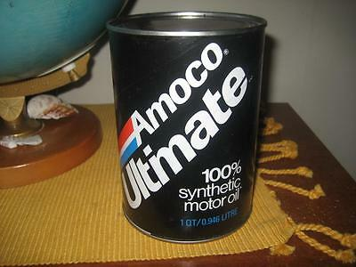 Super Nice Old AMOCO Oil Can never filled STORE DISPLAY 1 Quart Amoco Ultimate