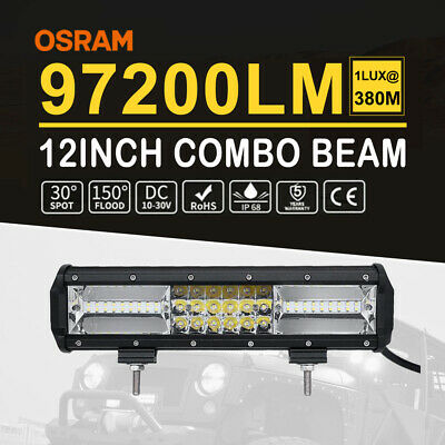 20Inch 1560W 10D CREE Led Work Quad Row Light Bar For 4X4 Offroad FORD JEEP 22''