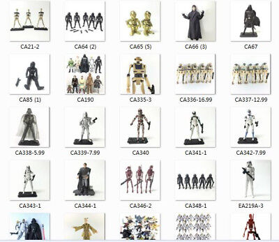 "Lots of 3.75"" Star Wars Jocasta Nu Clear DARTH Movie Toy Action Figure Boy Gift"