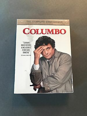 Columbo The Complete First Season (DVD, 2004, 5-Disc Set) BRAND NEW SEALED