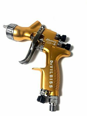 HVLP DEVILBISS HD-2 Spray Gun Gravity Feed for all Auto Paint ,Topcoat ,Touch-Up