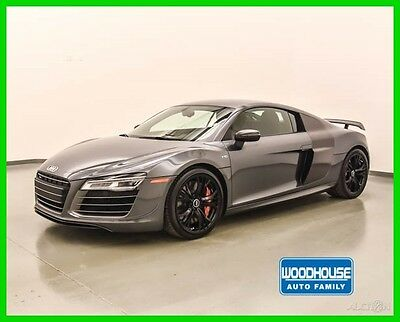 2015 Audi R8 Quattro Coupe 2015 R8 V10 COMPETITION COUPE, S-TRONIC, DAYTONA OVER BLACK NAPPA, FINANCE AVAIL