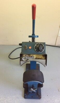 Vintage Geo Knight Cap Heat Press, 178B 120 Volt 49860