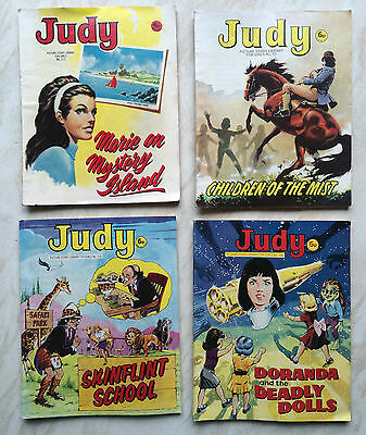 Judy Picture Story Library 1973 x 4