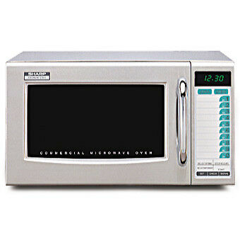 Sharp R-21LVF 1000 Watts Microwave Oven - Commercial Grade / Restaurant