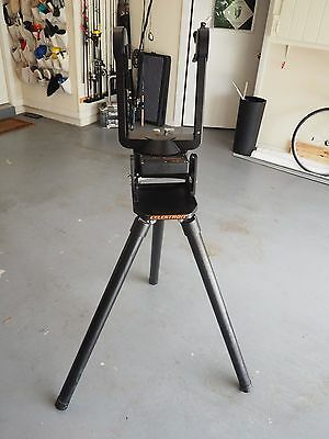 Celestron Celestar C8 Telescope Fork Mount and Tripod with RA drive motor.