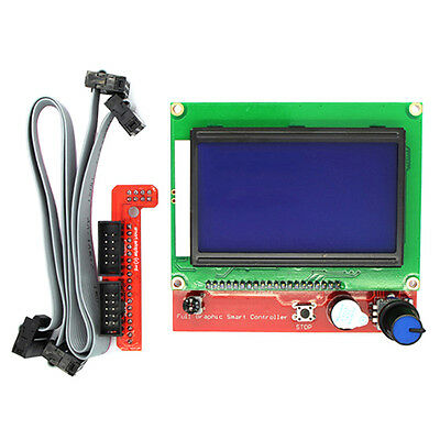 LCD 12864 Graphic Smart Controller Kit for RepRap RAMPS 1.4 3D Printer