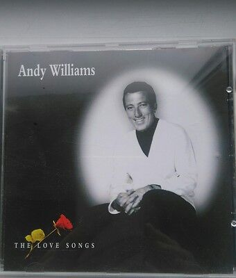 Andy Williams The Love Songs CD Used no scratches