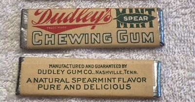 Dudley's Spearmint Chewing Gum