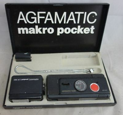 alte Kamera Agfamatic makro pocket