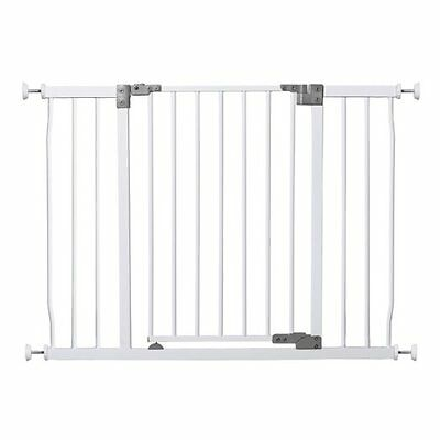 Dreambaby Liberty Tall Xtra Hallway Metal Safety Gate - White - 99-108cm - NEW