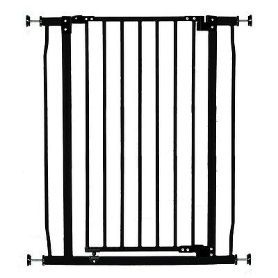 Dreambaby Liberty Tall Metal Safety Gate - Black - NEW