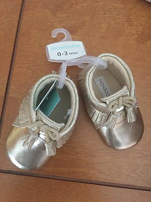 Monsoon Baby Shoes 0-3