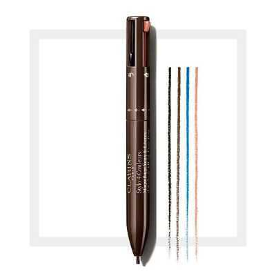 Clarins, maquillage yeux & lèvres, NEW Stylo 4 couleurs Eye liner NEUF