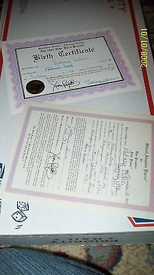 Cabbage Patch Soft Sculpture Birth Cert/adopt Paper New Ears Preemie Ed 82 Boy