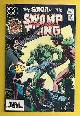 DC Comics - The Saga of the Swamp Thing #24 - May 1984 (Alan Moore)