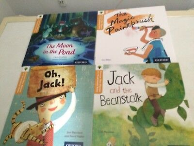 Oxford Reading Tree Set 4 Books Stage/level 6 Childrens Fiction Stories