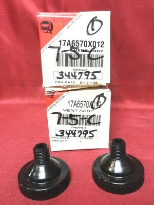 Lot of Two (2) New Fisher Y602 Series Vent Assemblies PN: 17A6570X012 New in Box