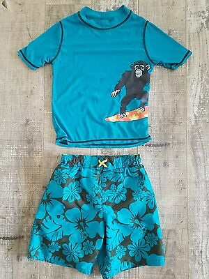 Carters Boys 3T Swim shorts and Wet Shirt