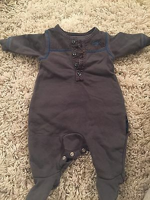 Baby Boys Body Suit By Myleene Klass Baby K Dark Blue New Baby Size Newborn