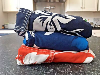 Lot of 3 Boy's Swim Trunks OLD NAVY & KANU (size small 6-7) Great Condition!!!