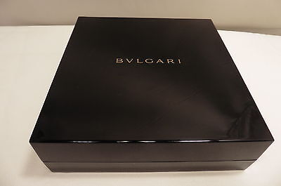 Small Snake Sterling Silver Chain,with  A New Bvlgari Long Earring  Box  .  .