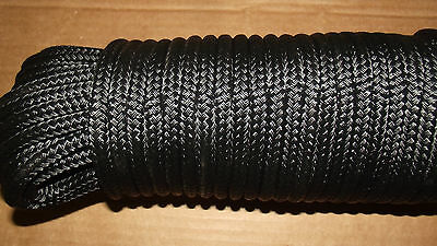 "7/16"" x 40' Sail/Halyard Line, Double Braid Polyester, Jibsheets, Boat Rope -NEW"