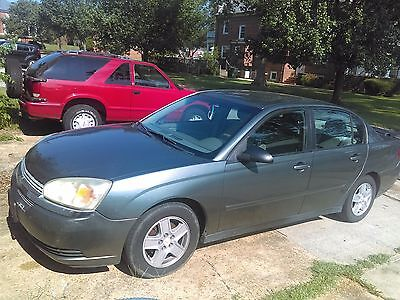 2005 Chevrolet Malibu LS 2005 Malibu LS sedan, mail delivery equipped right hand drive pedals