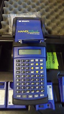 Brady HandiMark Label Maker  With tons of EXTRA'S label Rolls, ribbons,batteries