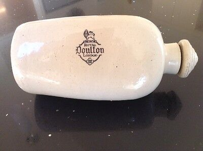 Antique Vintage - Royal Doulton Stoneware Pottery Hot Water Bottle Foot Warmer