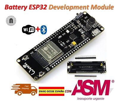 WeMos Battery ESP32 ESP-32 ESP32S WiFi + Bluetooth Development Board