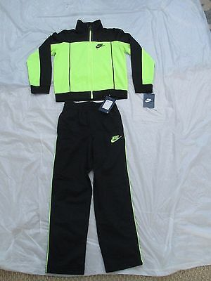 Nike Boys Suit Tracksuit 2 Piece Set Size 4 & Up Brand New Tags Style 86B255