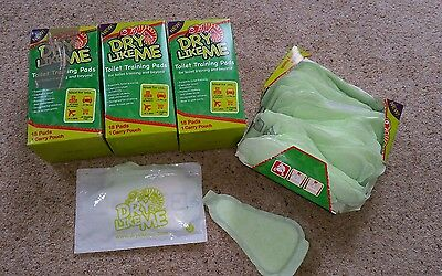Dry like me potty training pads unopened boxes plus spares