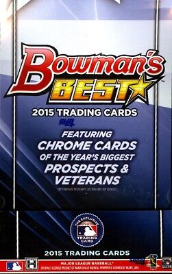 2015 Bowman's (Bowmans) Best Baseball Hobby Box (Sealed) (2 mini boxes/12 packs)