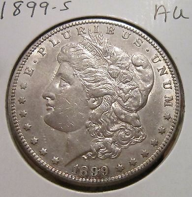 1899-S Morgan Silver Dollar Au Rare High Grade Key Date Us Silver Coin