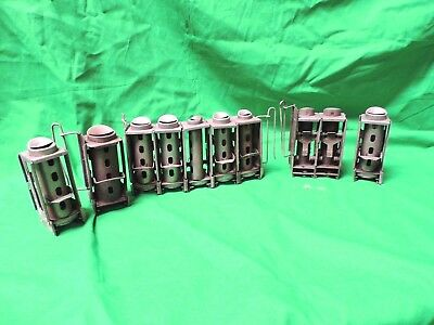 Lot of 10 Vintage Johnson Fare Box Company Slot Coin Changers Counter