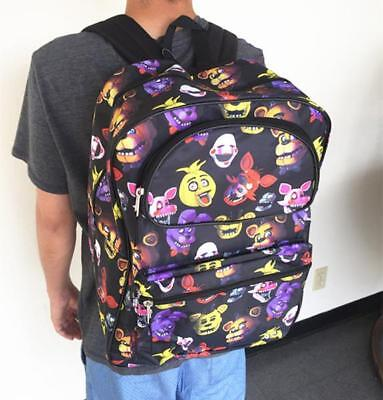 "Five Nights at Freddy's 16"" Large School Backpack Boy Backpack New Style"