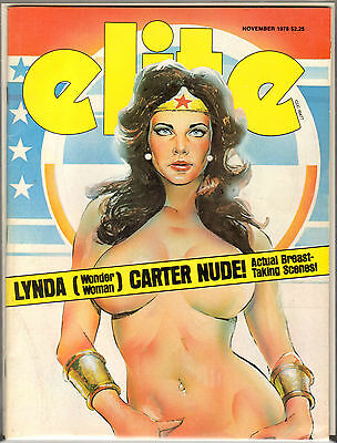 Elite Magazine Nov. 1978 Wonder Woman Painted Cover High Grade! Rare On Ebay